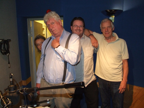 That's me, in my natural environment...a radio studio...between Tom and Richard!